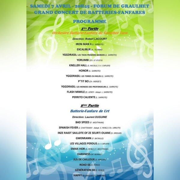 Concert à Graulhet le samedi 7avril à 20h45 - img