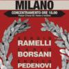 Cammemorazione: Ramelli, Borselli e Pedenovi