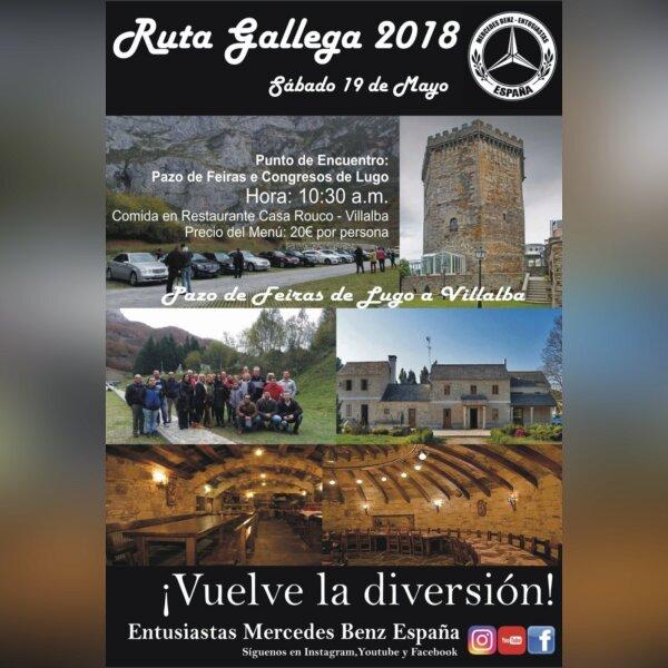 Ruta gallega 2018