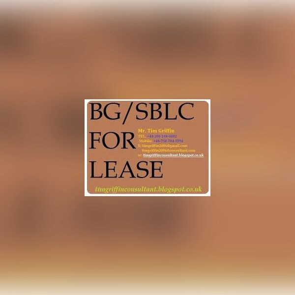 Bank instrument for lease/sale - img