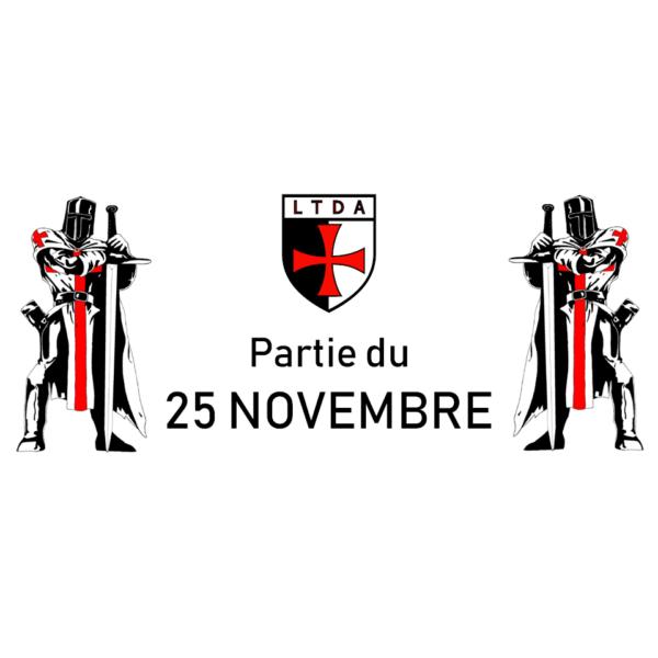 Partie dominicale mensuelle du 25 Novembre