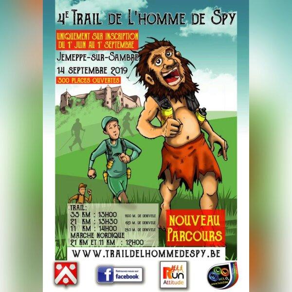 Trail de L'homme de Spy (Belgique)