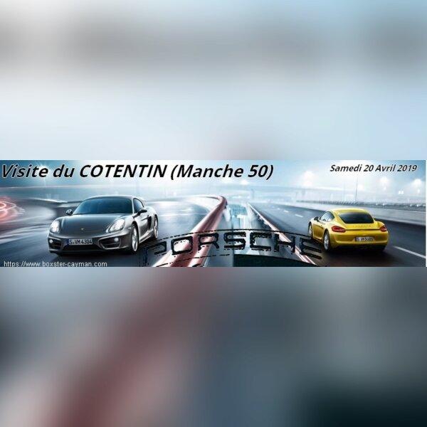 sortie Porsche Le COTENTIN (Manche 50)