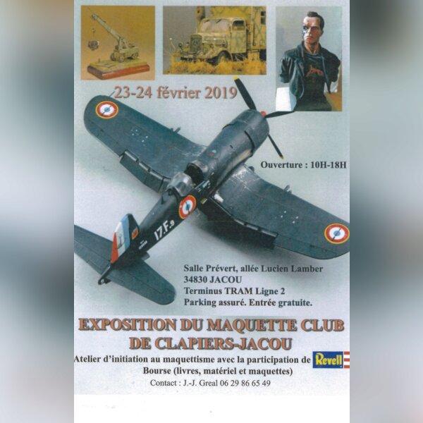 Exposition du Maquette Club de Jaqcou nbet Clapier