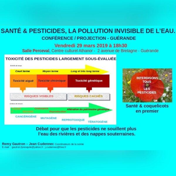 Santé & pesticides, la pollut° invisible- Guérande