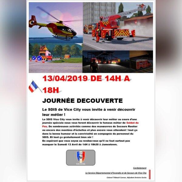 Journée Découverte du Métier de Sapeur-Pompier
