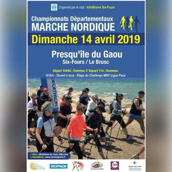 Championnats Départementaux Marche Nordique (83)