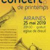 Concert de Printemps 2019 - Airaines