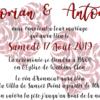 Mariage Dorian Storm & Antony Swift