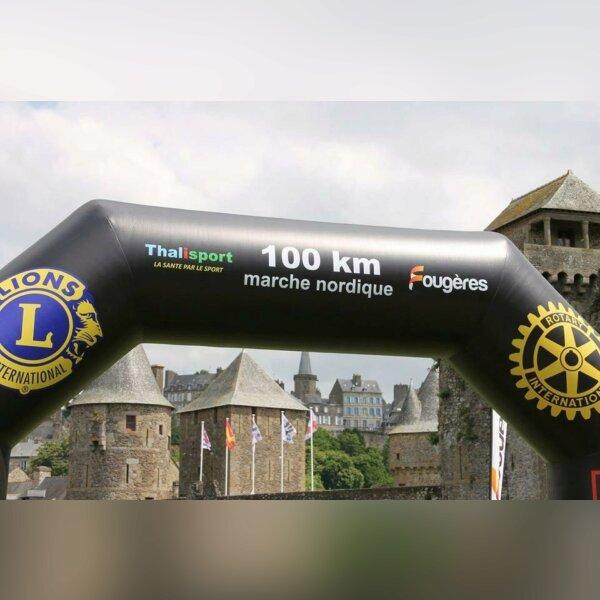 100 km de Marche Nordique de Fougères (35)