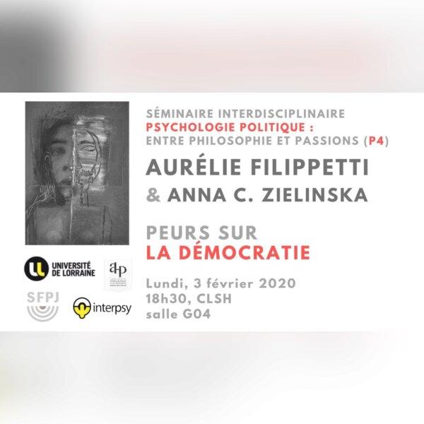 Séminaire : Aurélie Filippetti