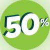 50% ACTIE - MEI 2020