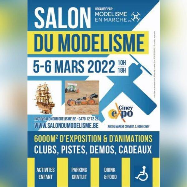Salon du modélisme - Ciney Epo - Belgique