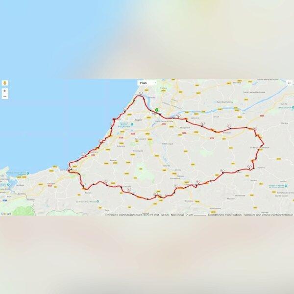 100 Kms du Pays Basque (64)