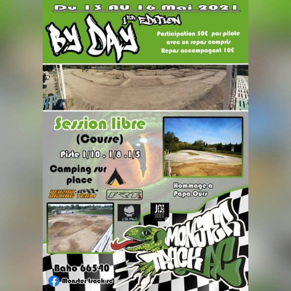 By Day 1ère édition - Monster Track RC