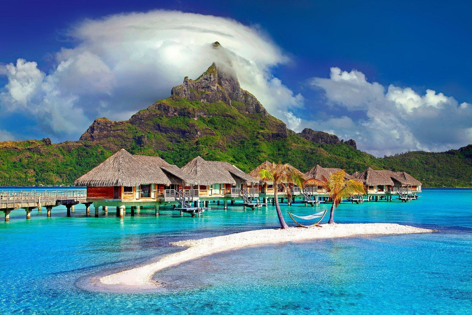 beach-bora-bora-clouds-753626