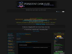 The Persistent Dark Elite Gamers Association