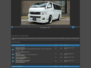 Free forum : 200HIACE CLUB