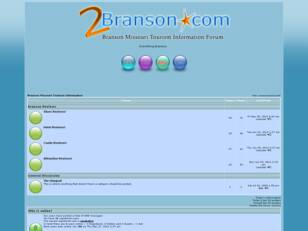 Branson Missouri Tourism Information