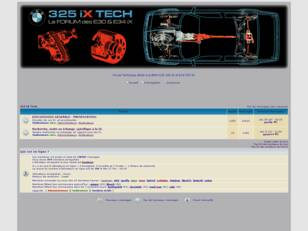 325 IX Tech (le Forum technique).
