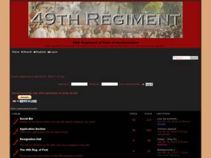 49th Regiment of Foot of Hertfordshire