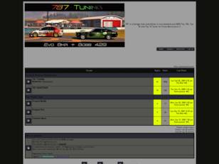 Forum gratis : 787 Tuning Garage