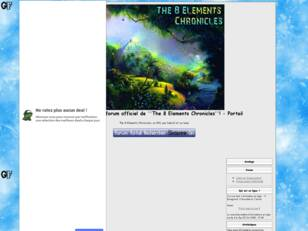 Forum officiel de ''The 8 Elements Chronicles''