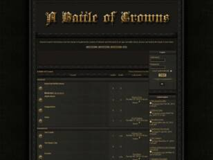 Free forum : A Battle Of Crowns