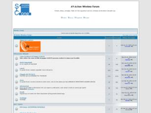 Forum gratis : A9 Action Wireless Forum