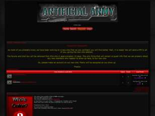 ~ Artificial Army~