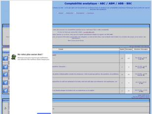 Comptabilite analytique - ABC / ABM / ABB - BSC