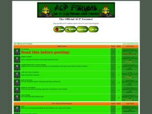 The Official ACP Forums!