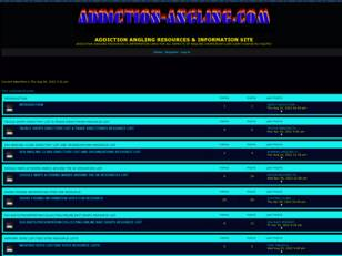 Free forum : addiction angling information