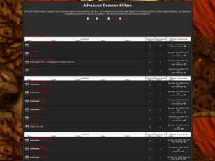 Forum gratis : Advanced Demons Killers