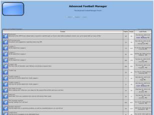 Free forum : Advanced Football Manager