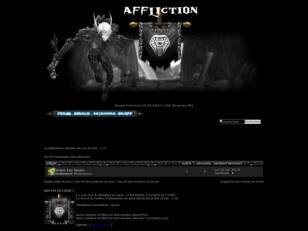 creer un forum : Affliction-wow-3.0.9
