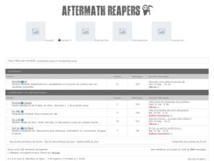 Aftermath Reapers - Le forum de la métacolation de Hordes