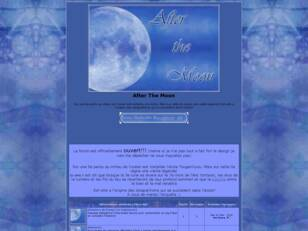 creer un forum : After The Moon