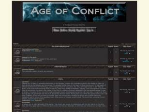 Free forum : Age of Conflict