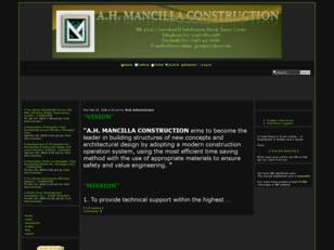 Free forum : A.H. MANCILLA CONSTRUCTION