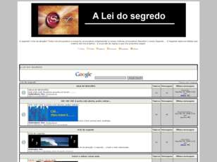 Forum gratis : A lei do Segredo