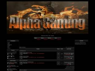 Free forum : Alpha Gaming