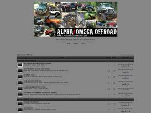 Free forum : Alpha Omega Offroad