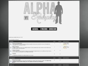GTA SA:MP - Alpha Roleplay V1