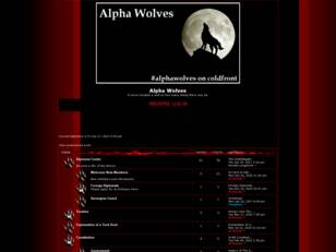 Free forum : Alpha Wolves