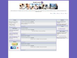 Alcatel-Lucent-CDE Discussion Forum