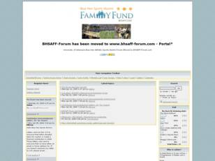 The BHSAFF has been moved to www.bhsaff-forum.com