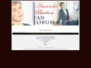 Amanda Burton Fan Forum