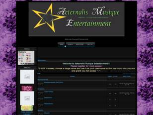 Free forum : Aeternalis Musique Entertainment