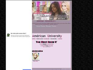 Forum gratis : Ameriican - University_*